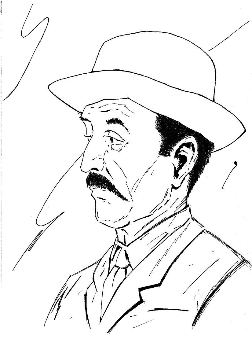 Retrato de Tomás Carrasquilla